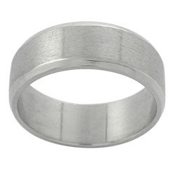 Stainless Steel Dual Polished Beveled Edge Ring