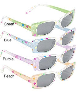 Adi Kids Girl's Polka Dot UV Protection Sunglasses