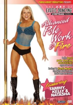 Striptease Series Advanced Pole Dancing & Fire With Fawnia Mondey (DVD)