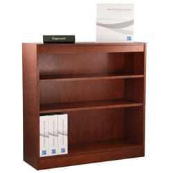 Ergocraft Laguna 3-shelf Wood Veneer Bookcase