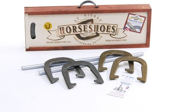 American Presidential Horseshoe Set
