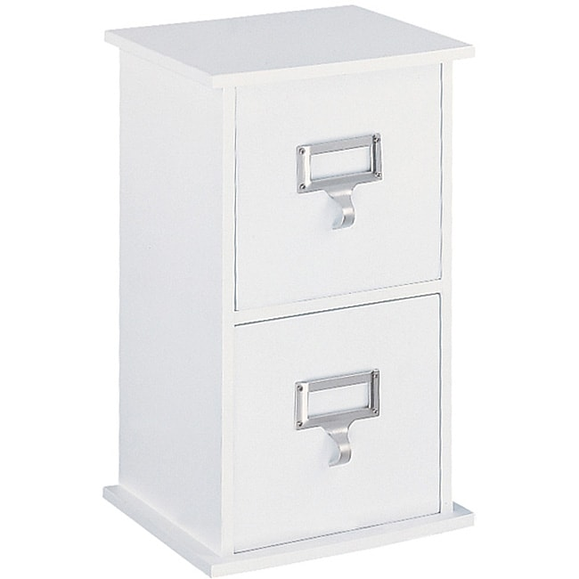 Organize It All Cardinal 2-drawer CD Organizer