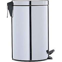 Stainless Steel 12.5-quart Step-open Trash Can