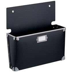 Black Polypro Large Wall Pocket (Set of 3)