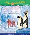 Magic Tree House Books 37-40: Dragon of the Red Dawn/Monday With a Mad Genius/Dark Day in the Deep Sea/Eve of the ... (CD-Audio)