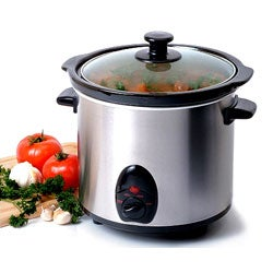 Stainless Steel 3.5-quart Slow Cooker