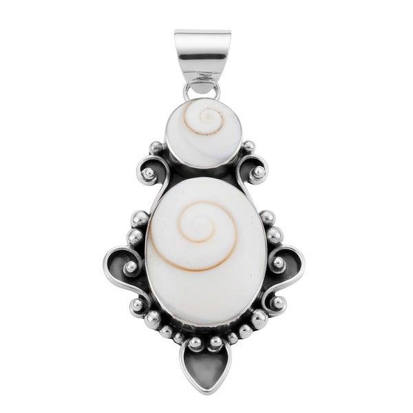 Shiva Shells Sterling Silver Pendant (Indonesia)