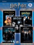 Harry Potter Instrumental Solos (Movies 1-5): Clarinet, Level 2-3