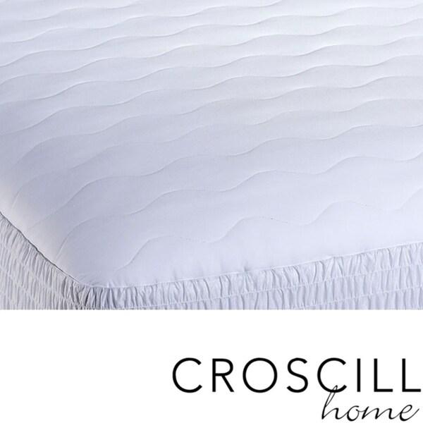 Croscill Microfiber High Loft Mattress Pad