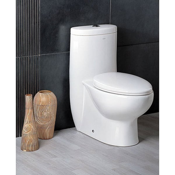 Ariel Platinum 'The Hermes' Dual Flush Toilet