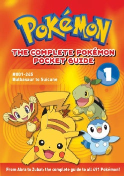 The Complete Pokemon Pocket Guide 1 (Paperback)