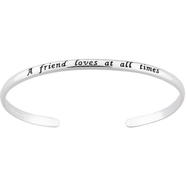 Personalized Friend Sentiment Bracelet Share Email