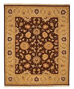 Hand-woven Soumak Wool Rug (6' x 9')