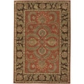 Hand-tufted Traditional Mandara Collection Rug (8'