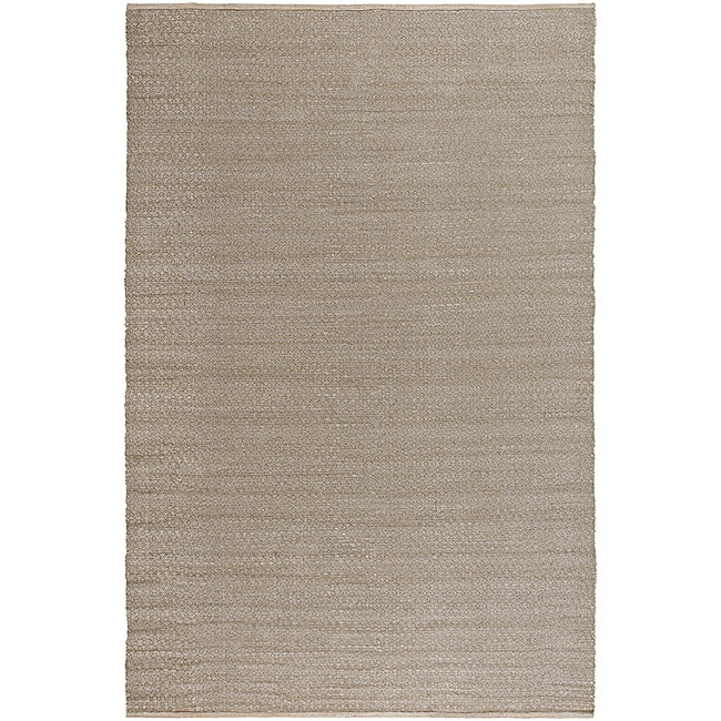 Handmade Mandara Collection Silk Rug (5' x 8')