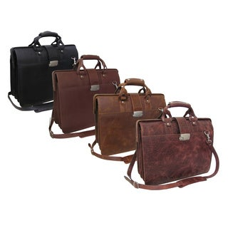 Amerileather Leather Doctor's Carriage Bag