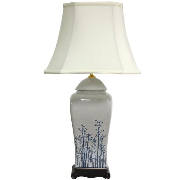 26-inch Foliage Vase Lamp (China)