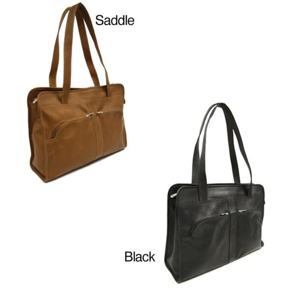 Piel Leather Women's Laptop Tote Bag