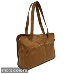 Piel Leather Women's Laptop Tote Bag