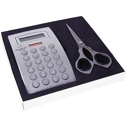 Calculator and Scissors