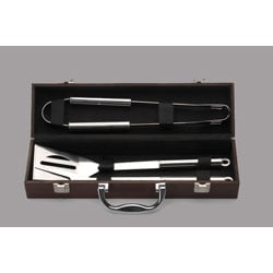 4-piece Mini BBQ Tool Set with Box