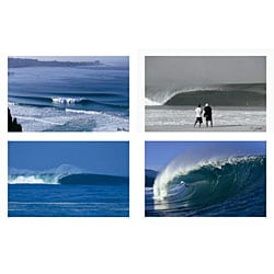 Milepost 6 Wave Posters II (Pack of 4)
