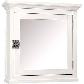 Classique 18-inch White Medicine Cabinet by Elegant Home Fashions
