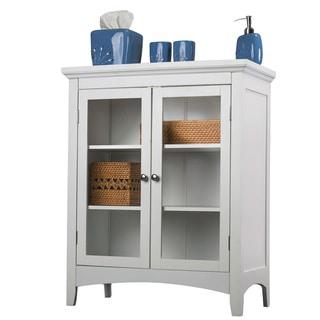 Classique White Double Floor Cabinet