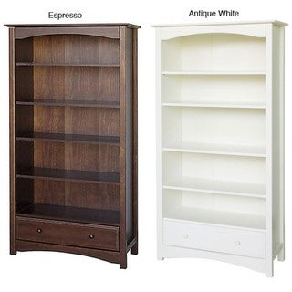 DaVinci Bookcase in Antique White