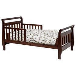 DaVinci Espresso Sleigh Toddler Bed