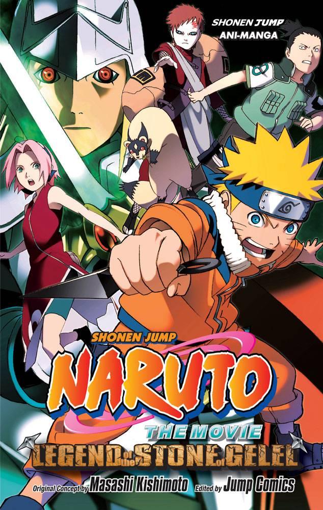 Naruto The Movie Ani-Manga 2: Struggle for the Stone (Paperback)