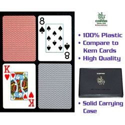 Copag Red and Blue Playing Cards (Two Decks)