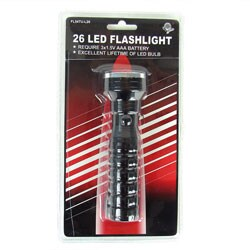 Ultra Bright 26 Bulb LED Flashlight (Set of 2)