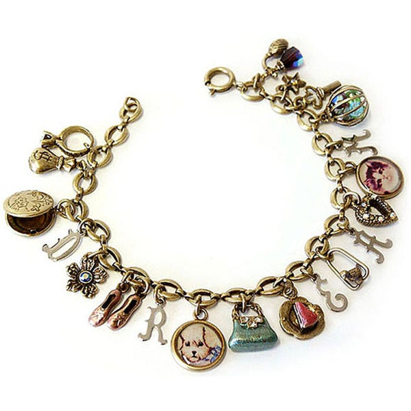Sweet Romance 'Dream' Charm Bracelet
