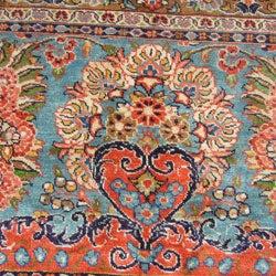 Rare Antique Meshkabad Persian Rug (26'9 x 37')