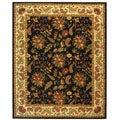 Safavieh Handmade Paradise Black Wool Rug (8'9 x 11'9)