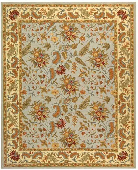 Safavieh Handmade Paradise Light Blue Wool Rug (8'9 x 11'9)