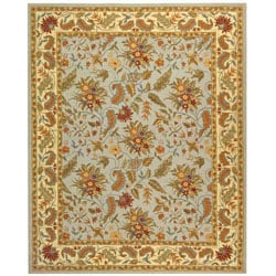 Safavieh Handmade Paradise Light Blue Wool Rug (8'9 x 11'9)