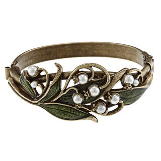 Sweet Romance Art Nouveau Lily of the Valley Bracelet