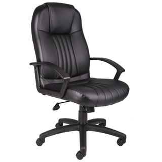 Boss High Back Bonded Leather Executive Chair