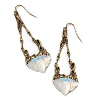 Sweet Romance Art Nouveau Face Earrings
