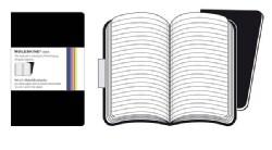 Moleskine Volant Notebook Ruled Black Pocket (Notebook / blank book)