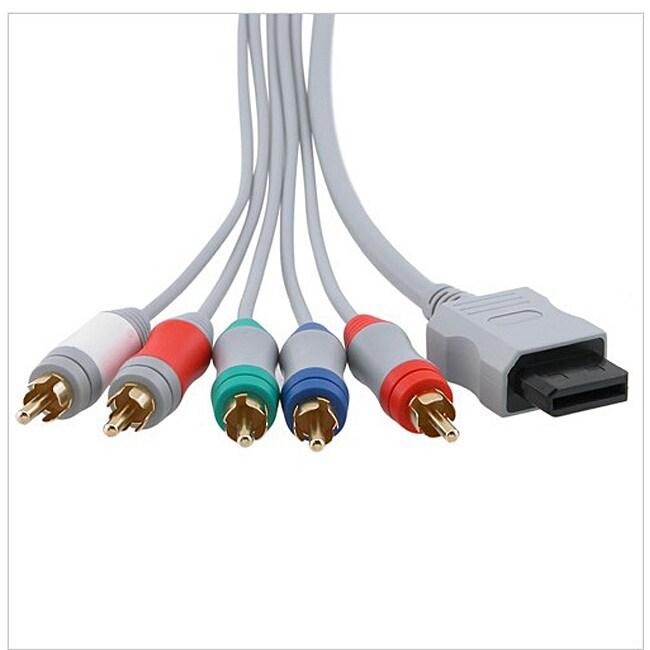 INSTEN Premium Component AV Cable for Nintendo Wii