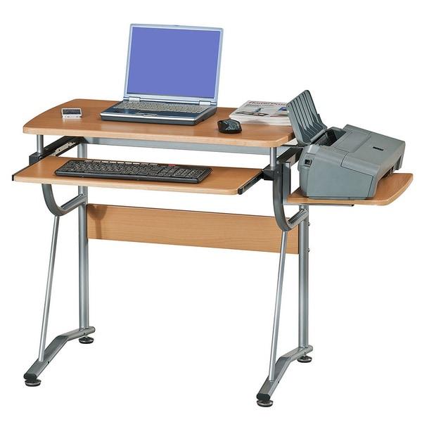 Computer Desk Workstation Wood Office Furniture High Quality Printer