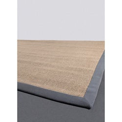 Hand-made Mandara Natural Collection Rug (9' x 13')