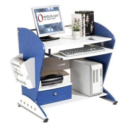 Cosmopolitan Compact Desk Workstation