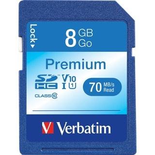 Verbatim 8GB Premium SDHC Memory Card, Class 10