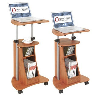 Ergonomic Adjustable Rolling Laptop Desk