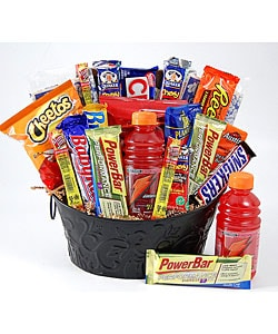 High Energy Snacks Gift Basket
