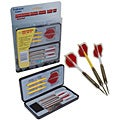 Competitor Nickel Silver Plastic Darts Parlor Game Set (Pack of 12)